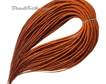 Set DE Classic Smooth Synthetic Dreads Red Headed Cat
