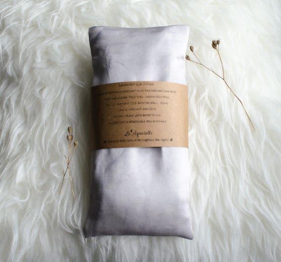 Lavender Eye Pillow, Relaxation Eye Pillow, aromatherapy pillow, Yoga Eye Pillow, Organic Scented Eye Pillow,  Gift for Wife, Honeymoon Gift
