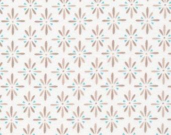 Burst Gray - Cloud9 Flannel - Cloud9 Fabrics - Organic Cotton Flannel by the Yard