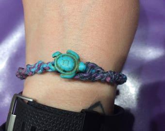 Hemp Bracelet with Pendant