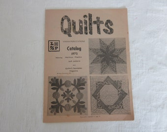 1973 Leman Publications QUILTS Catalogue