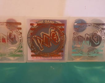 The World Pog Federation Set of 3 Micro Tournament Game Packs
