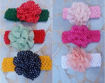 Baby headbands, baby flower headband, headbands, holidays headbands, baby flower bows, flower headbands, infant headbands