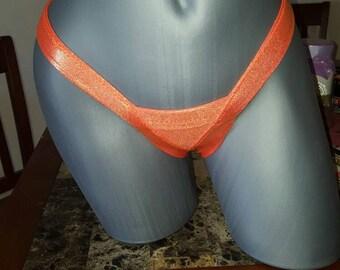 Patriotic Mini Micro Euro Style Extreme Tan G-String Bikini