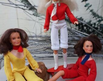 Vintage Charlie's Angels Dolls by Hasbro ~ Set of 3