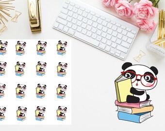 book reader planner stickers
