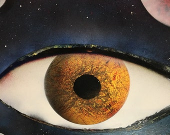 Spray Paint Art Original Spray Paint Space Painting, Space Art, Spray Painting, Spray Art, Space Painting, Eye Painting, Planet Art,