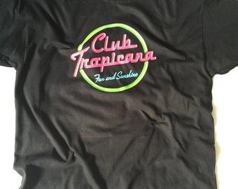Club Tropicana t-shirt George Michael tshirt WHAM