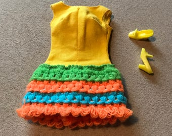 Vintage Barbie Loop Scoop Outfit