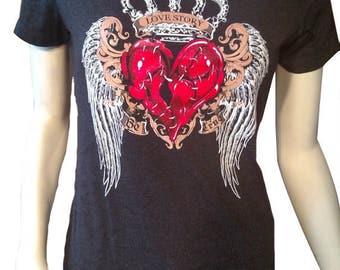 Be True Broken Heart T-Shirt