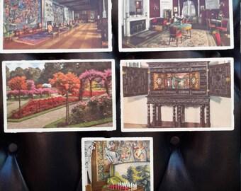 Biltmore Estate Asheville North Carolina  Vintage Postcards by George Masa