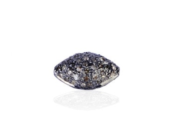 SDC-1116 - Bead -Pave diamond charm