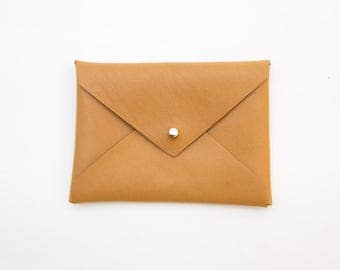 Door card-visit or wallet leather - envelope