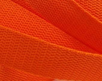 3 m belt bag belt 30 mm Orange
