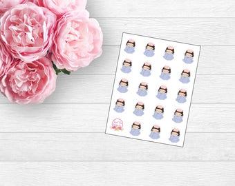 Sick Gracie Planner Sticker (L20)