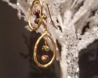 Nana's Classy Chandelier Earrings