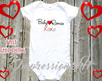Baby Romeo shirt - Cute shirt for Valentine's day