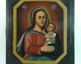 Antique Icon 18-19th century.