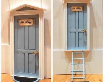 NOVEDAD! Nuevo diseño de puerta del ratón Pérez, hechas a mano, personalizables, colores a elegir.