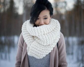 Simple Garter Stitch Scarf Knit Pattern