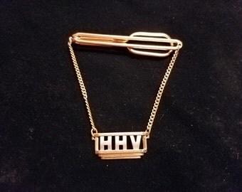 """Swank Tie Bar """"HHV"""""""