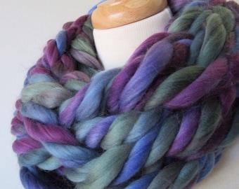 Warm and Cozy Purple Cowl