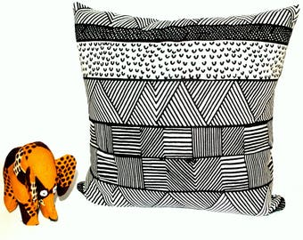 African Pillow Cover Tribal Pillow Cover African Pillow Case Tribal Pillow  Case