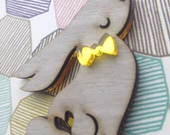 Bunny rabbit jewellery,Rabbit gift , Bunny Gift , Rabbit , Bunny Brooch