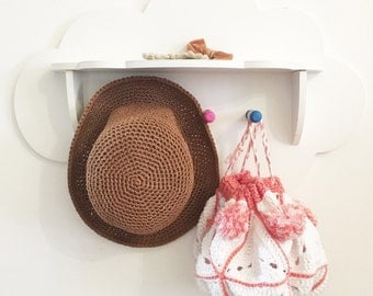 Straw Sun Hat, child's hat, beach hat, summer Hat