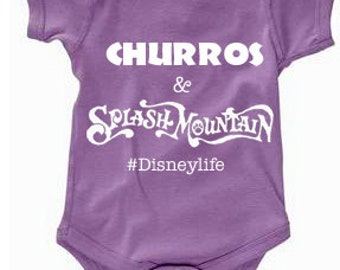Disney Baby Shirt Churros & Splash Mountain Shirt Disneyland Shirt Disney World Shirt womens shirt life is good Magic Kingdom