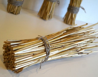 Natural straw bouquet straw bunch dried grass bunch vase for Rustic home decor suppliers