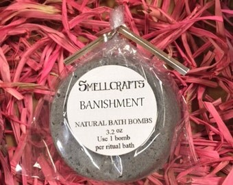 Wiccan Banishment Bath Bombs - Spell Wicca witch kit