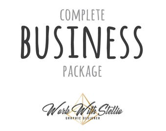Custom Business Branding Package Edition Brand Identity Graphic Design Logo Design Business Cards Stamps Invoicing complete