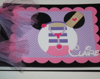 Personalized Disney Autograph Book Inspired by Doc McStuffins