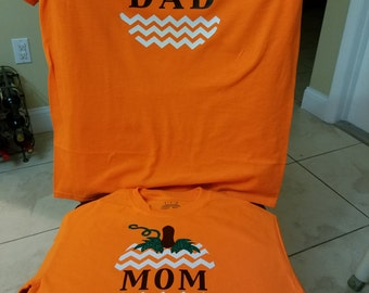 Parents Halloween shirt