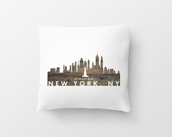 Pillow, coordinate art, house warming, newly weds, tourist, travel, traveler, gift, home decor, print