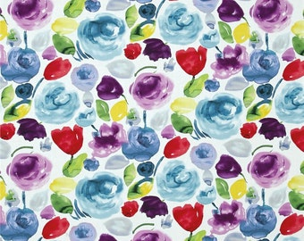 Timeless Treasures Dear Stella Adelaide Floral Wash Multi