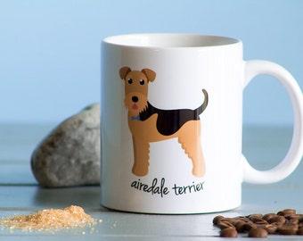 Airedale Terrier Mug (boy)