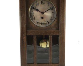 Beautiful antique wall clock