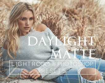 5 Matte Lightroom Presets, Photoshop Overlay, Adobe Lightroom, Film Presets, Portrait Preset, Lightroom Tools, Pro Presets, Soft Presets