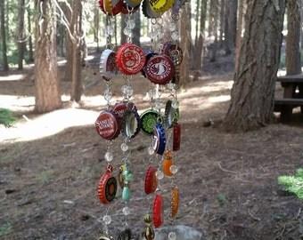 Bottlecap Windchimes