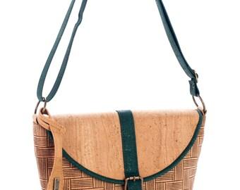 Cork bag, cross body bag