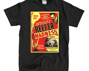Reefer Madness - Black T-shirt