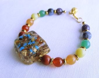 Chakra Bracelet, 7 Chakra Bracelet, Spiritual Bracelet, Yoga Bracelet, Meditation Bracelet, Chakra Jewelry, Crystal Bracelet, Reiki Bracelet