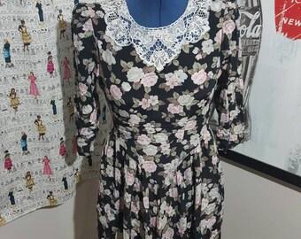 Sale :American Collection Vintage Floral Dress