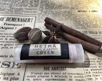 COVEN - chai, vanilla, and cardamom spice lip balm