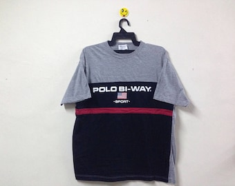 Rare!!! Polo Bi-way Sport T-shirt Polo Sport Ralph Lauren Tommy