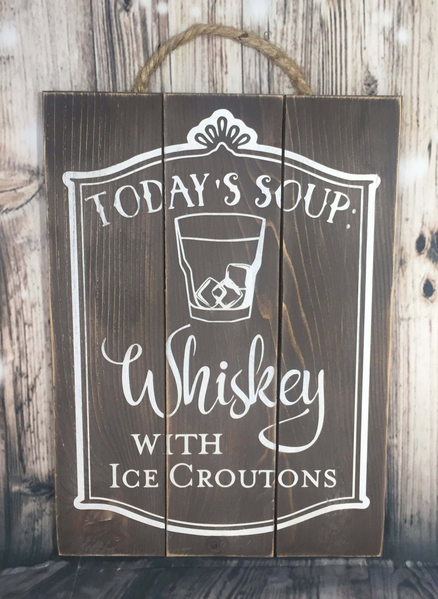 Restaurant bar kitchen decor today s soup whiskey