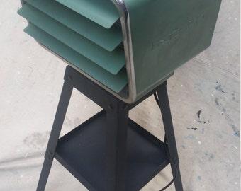 Upcycled Industrial Modern Floor Lamp