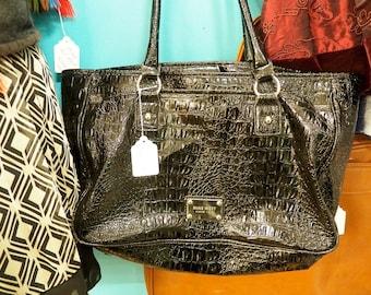 Black Vintage Nine West Handbag
